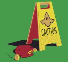 Caution Banana Kids Tee