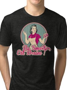 Eat Brains Tri-blend T-Shirt