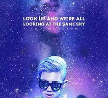 look up and we're all looking at the same sky by galaxxxy6