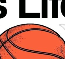 BASKETBALL IS LIFE, THE REST IS JUST DETAILS. Sticker