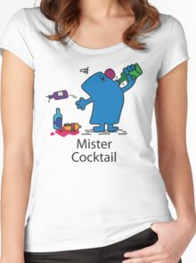 Mister Cocktail Women's Fitted Scoop T-Shirt