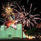 New Years 2012 at Mission Santa Barbara by amira