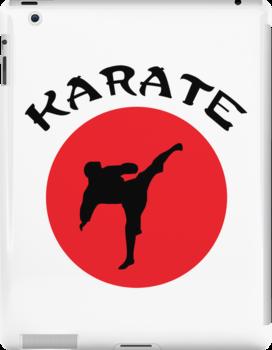 Karate Rising Sun by martialway