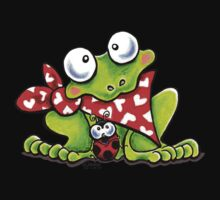 Sweet Frog n Ladybug {Kids} One Piece - Long Sleeve