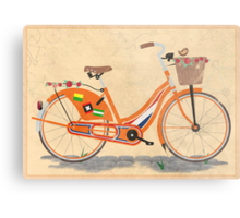 Love Holland, Love Bike Metal Print