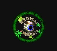 Eye of Medical Cannabis from Valxart.com Mens V-Neck T-Shirt