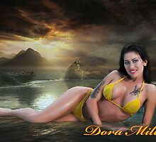 Dora Miller Yellow Bikini 4 by dreamofdora