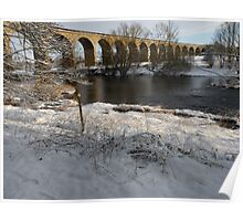 Arthington Viaduct, West Yorkshire #2 Poster