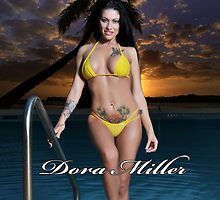 Dora Miller Yellow Bikini 5 by dreamofdora