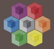 Cube Rainbow Kids Clothes