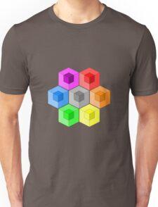Cube Rainbow Unisex T-Shirt