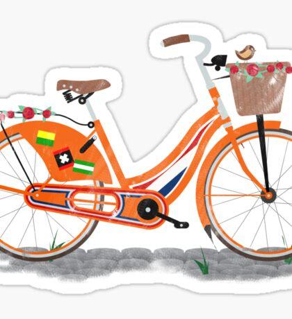 Love Holland, Love Bike Sticker
