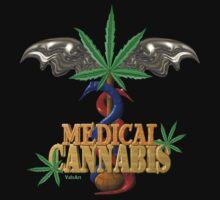 Cannabis Caduceus from Valxart.com  by Valxart