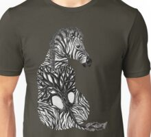 Zebra Tree Unisex T-Shirt