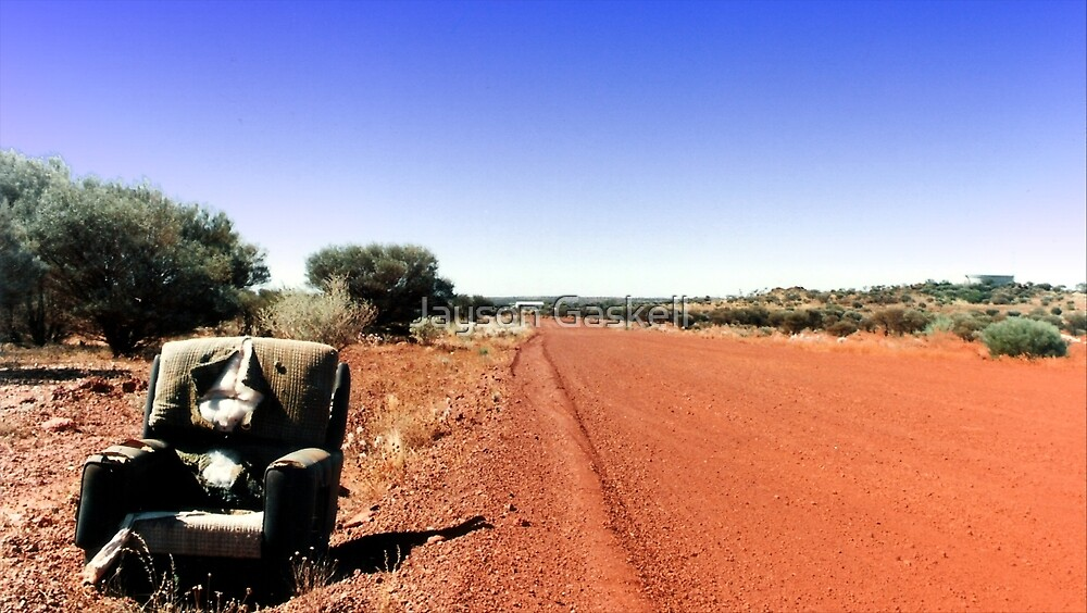 Outback Bus Stop by Jayson Gaskell