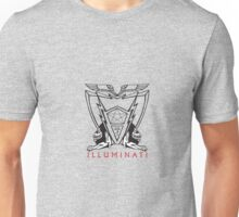 Illuminati Aegis Shield Logo Unisex T-Shirt