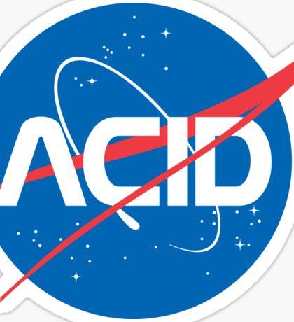 Acid vs Nasa Sticker
