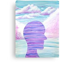 Yupo Painting | Purple Sky Canvas Print