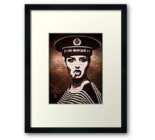 CCCP Framed Print