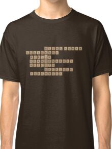 British Telly Scrabble Classic T-Shirt