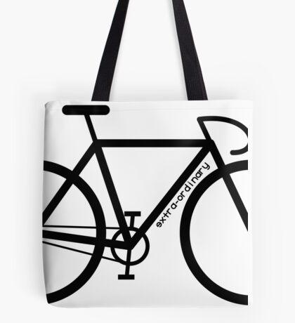 Bike Silhouette Tote Bag