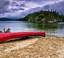 The Red Canoe by Kathy Weaver
