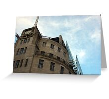 Broadcasting House Greeting Card
