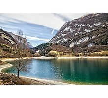 Lake Tenno, Italy. Photographic Print