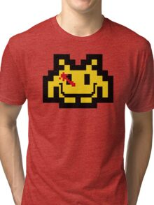 Who Watches The Invaders? Tri-blend T-Shirt