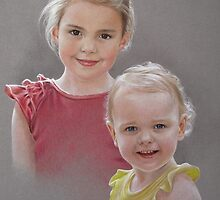Ella and Dani by Heidi Schwandt Garner