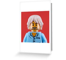 Kurt Cobain Portrait Greeting Card