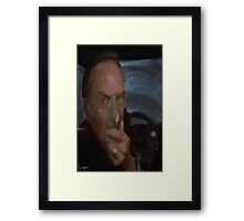 frank wants to go for a drive Framed Print