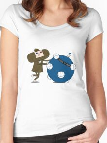 Allons-y Katamari Women's Fitted Scoop T-Shirt
