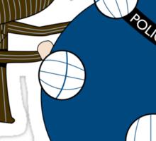 Allons-y Katamari Sticker
