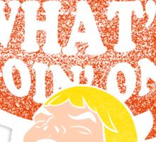 HEY-Man Sticker