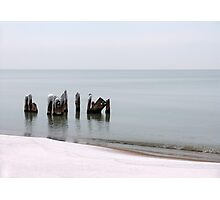 Icy Stillness Photographic Print