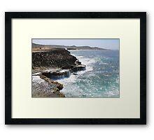 Aruba Coastline Framed Print
