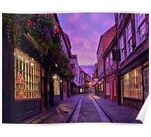 The Shambles York - HDR Poster