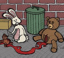 Teddy Bear and Bunny - The Abortion by Brett Gilbert