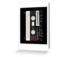 Audio Cassette Mix Tape  Greeting Card