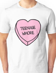 Teenage Whore Unisex T-Shirt