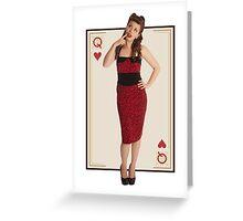 Pinup Greeting Card
