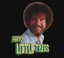Bob Ross And His Happy Trees Kids Clothes