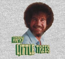 Bob Ross And His Happy Trees by CreatingRayne
