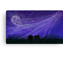 Mink in The Stratosphere  Canvas Print