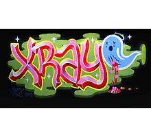 """Bubblegum XRAY & Sad Ghost"" Photographic Print"
