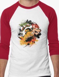 BOW DOWN 2.0 Men's Baseball ¾ T-Shirt