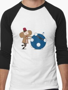 Katamari Is Cool Men's Baseball ¾ T-Shirt