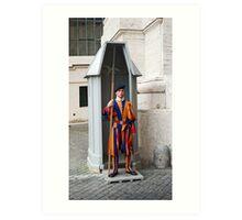 Security In The Vatican Art Print