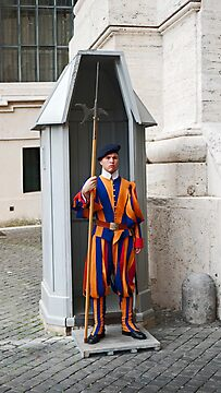 Security In The Vatican by phil decocco